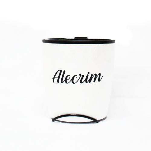 Vaso Auto Irrigável Seleção Branco - Alecrim