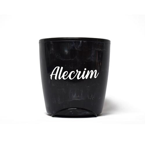 Vaso Auto Irrigável Seleção Preto - Alecrim