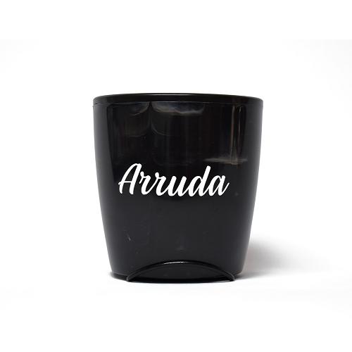 Vaso Auto Irrigável Seleção Preto - Arruda