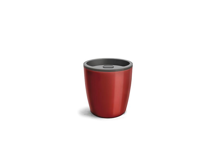 Vaso Auto Irrigável - Vermelho Vinho