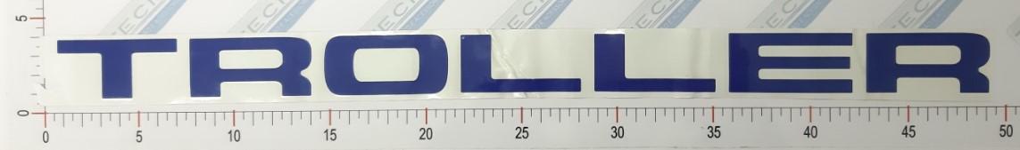Adesivo Letras Grade Azul - LG10-AZUL