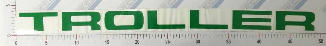 Adesivo Letras Grade Verde - LG10-VERDE