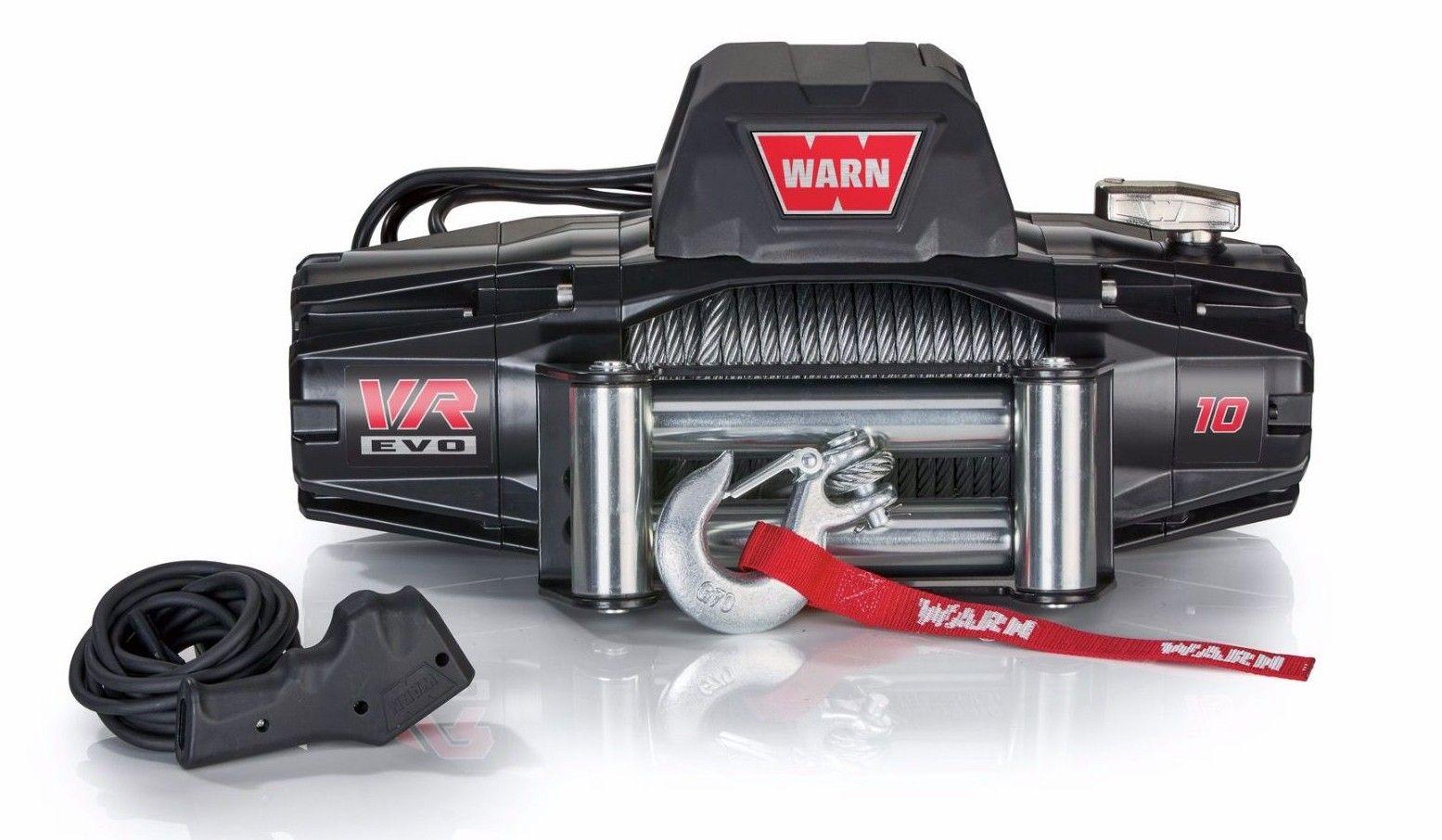 Guincho Warn VR EVO 10 cabo de aço - 103252
