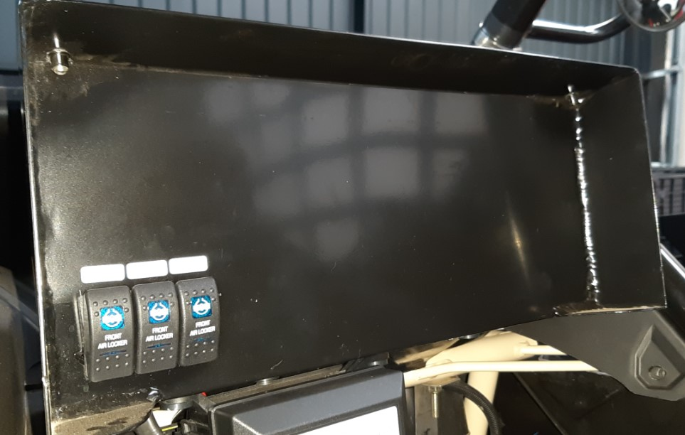 Painel de Navegação em Aluminio Para Maverick X3 - TREK-PNAMX3