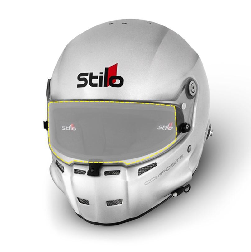 Pelicula protetora de viseira Anti Risco Para Capacete Stilo - TREK-PEL12