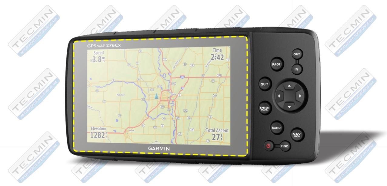Pelicula Protetora Para GPS Garmin 276CX - TREK-PEL16