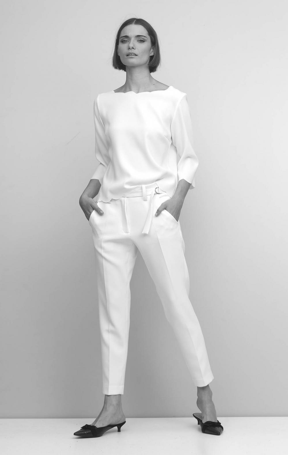 Blusa Murano Off White - Foto 1