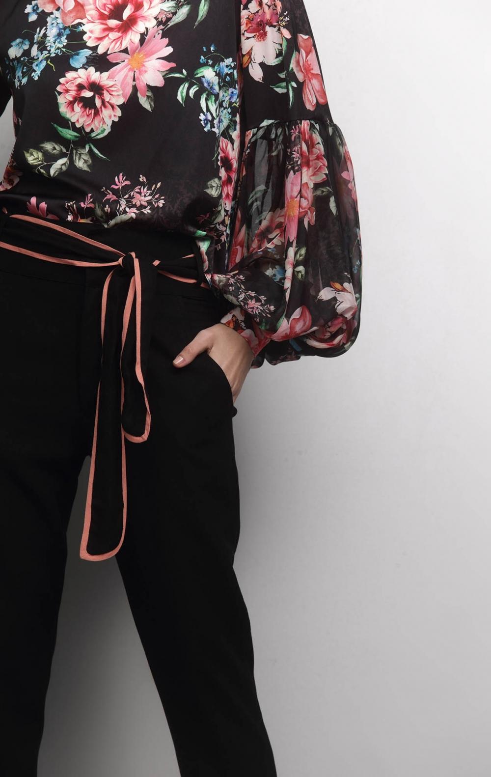 Blusa Cetim Floral - Foto 3