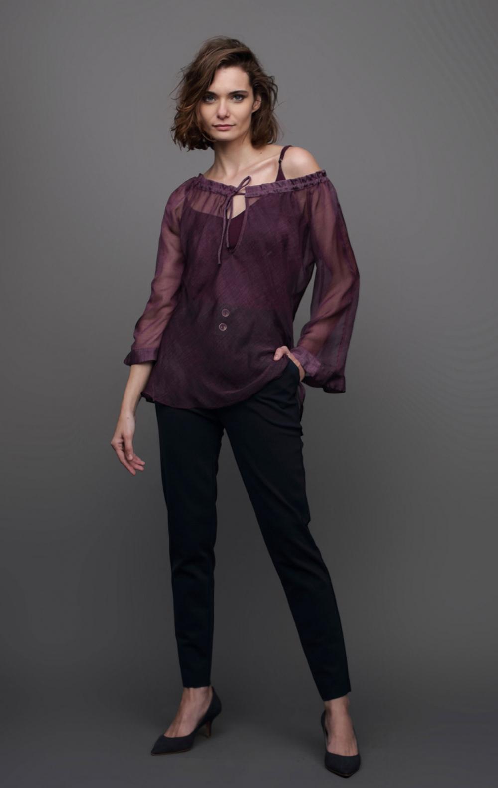 Blusa Ciganinha Musseline - Foto 1