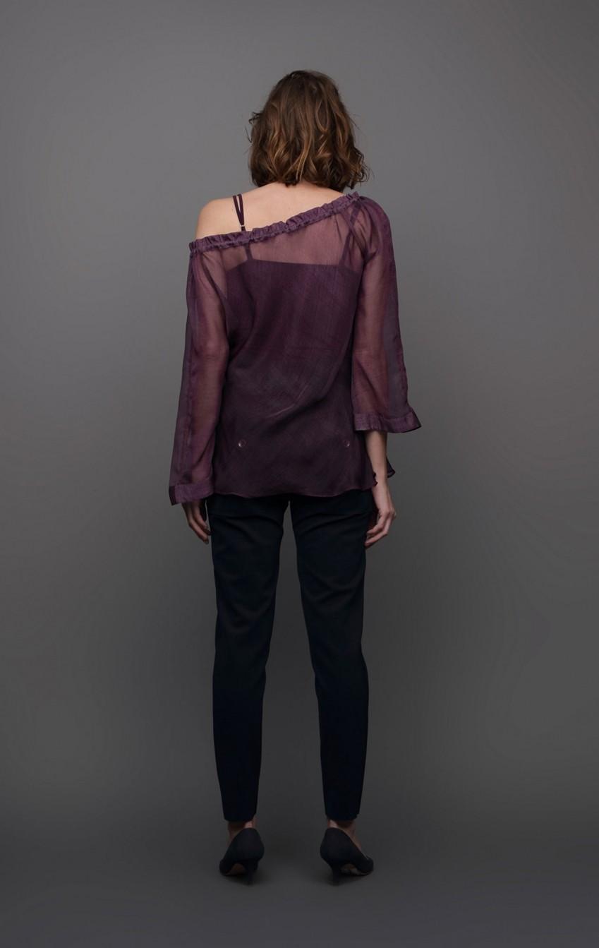 Blusa Ciganinha Musseline - Foto 2