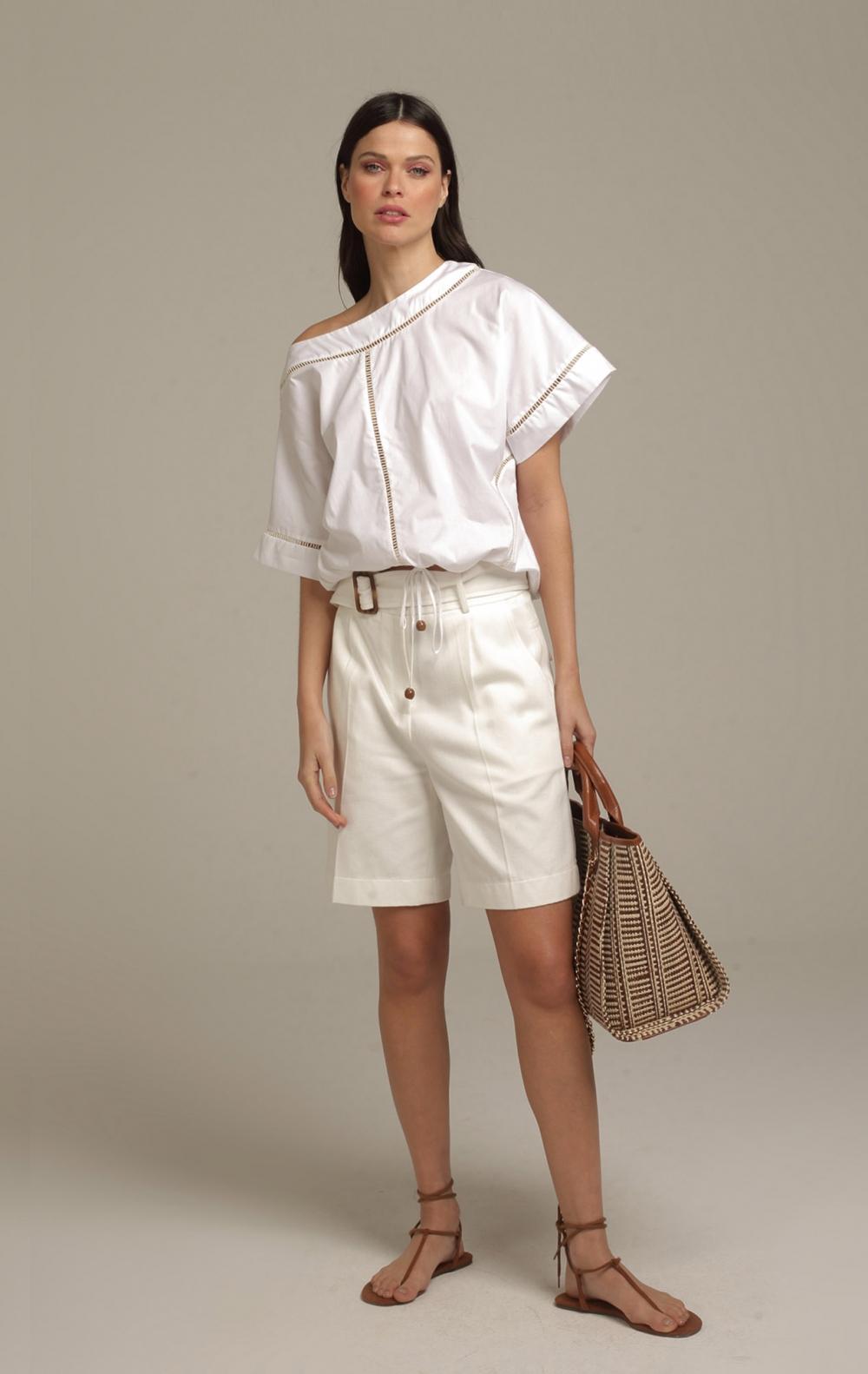 Blusa Joy Branco - Foto 1