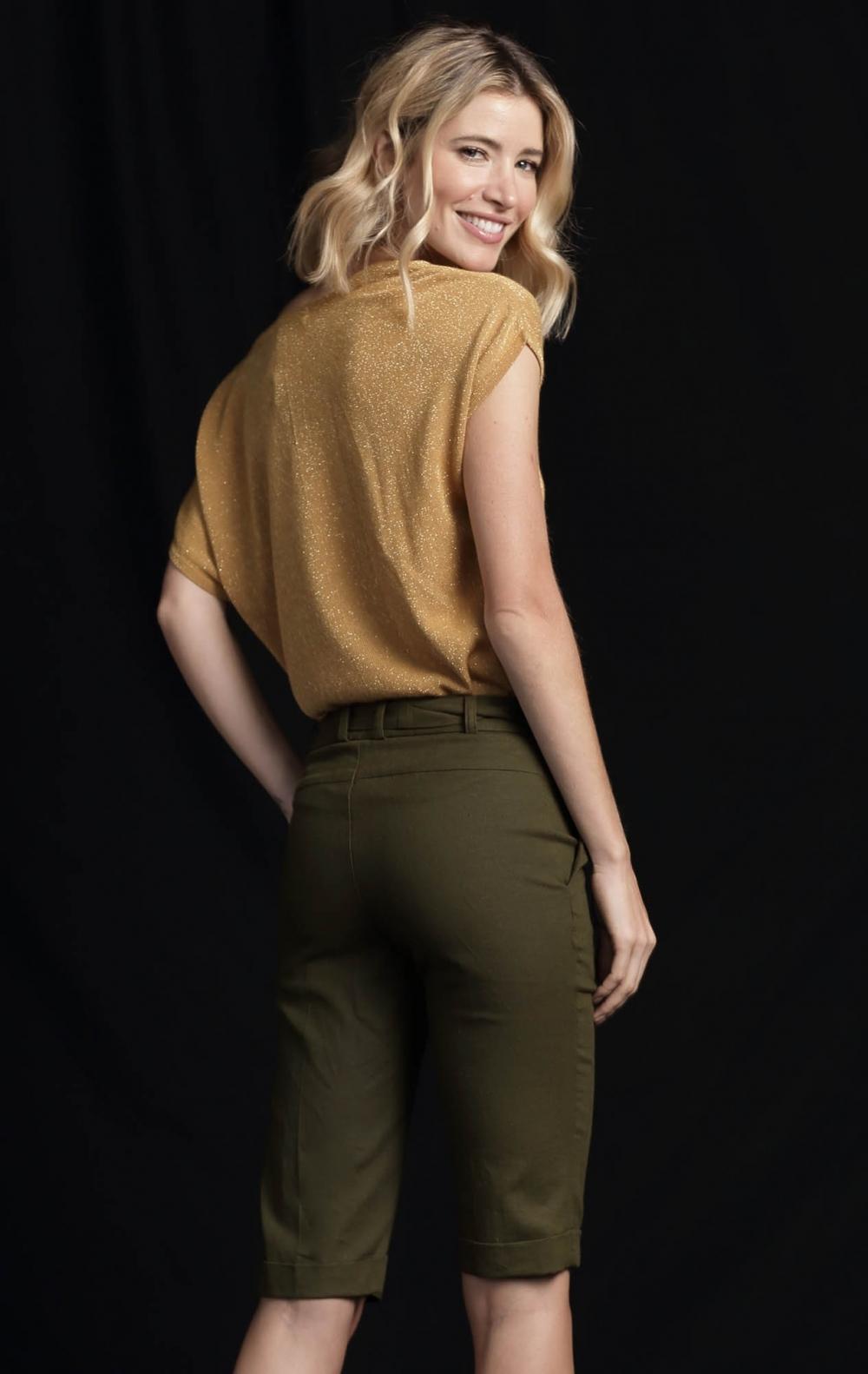 Blusa Lurex Dourada - Foto 2