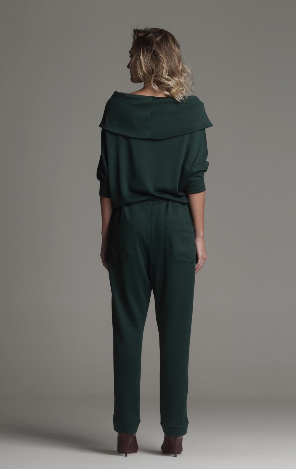 Blusa Malha Ombro a Ombro Verde - Foto 2