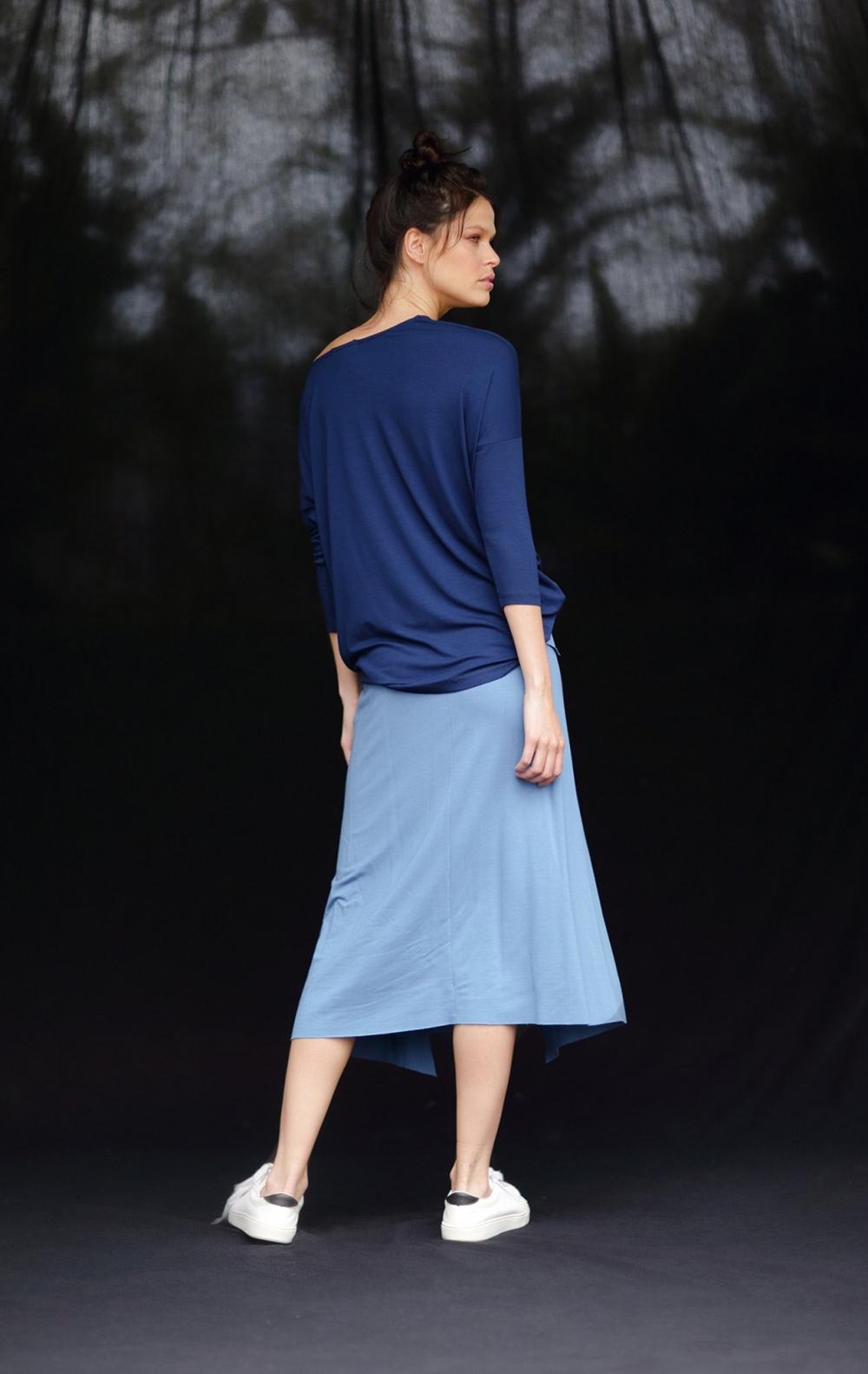 Blusa Malha Sophia Azul  - Foto 2