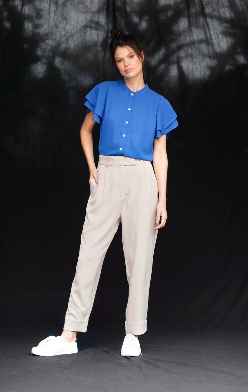 Blusa Microfibra Monica Azul  - Foto 1