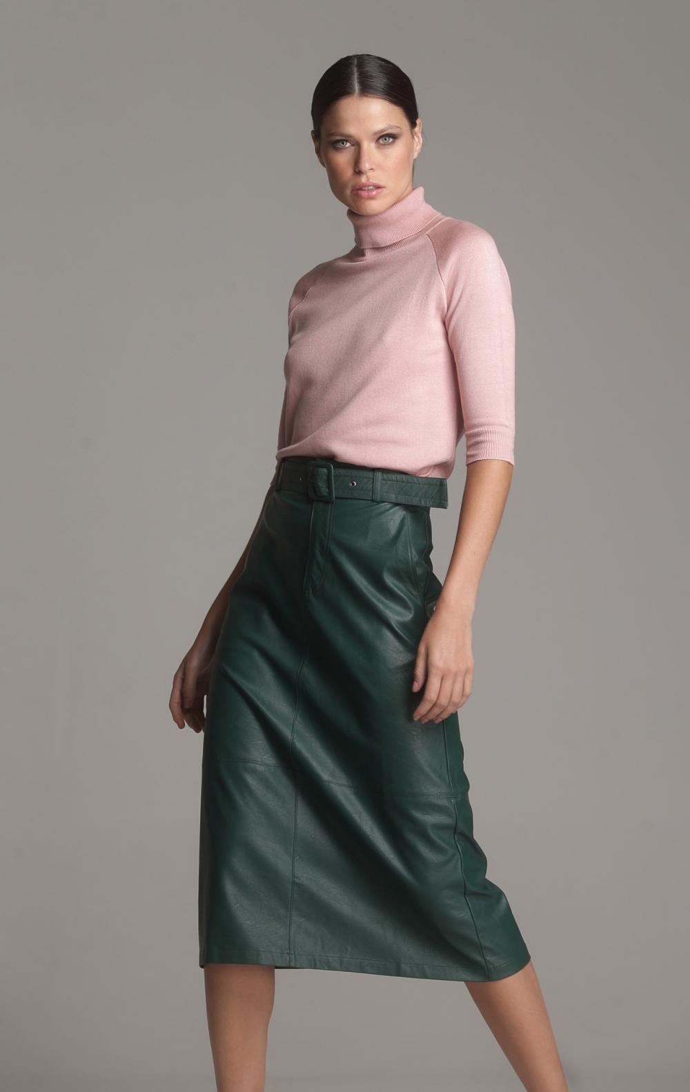 Blusa Tricot Gola Rosa  - Foto 3