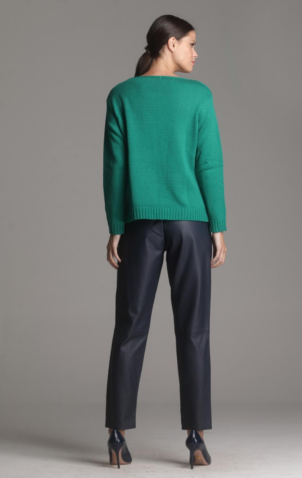 Blusa Tricot Tania Verde  - Foto 2