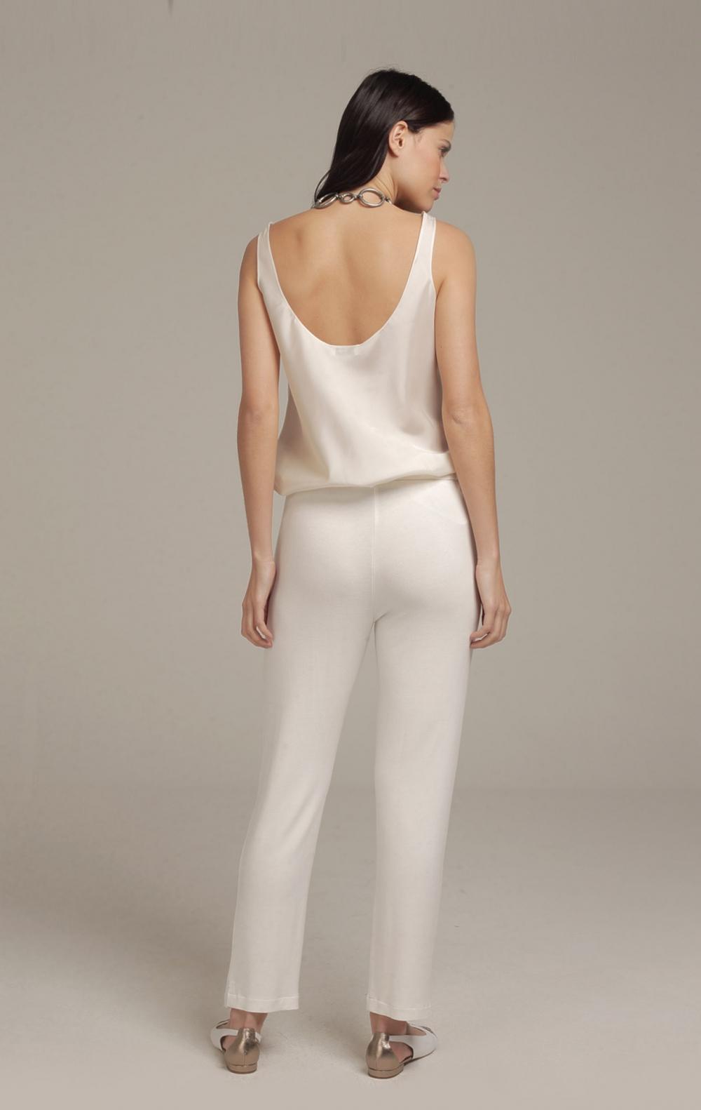 Calça Celina Off White - Foto 2