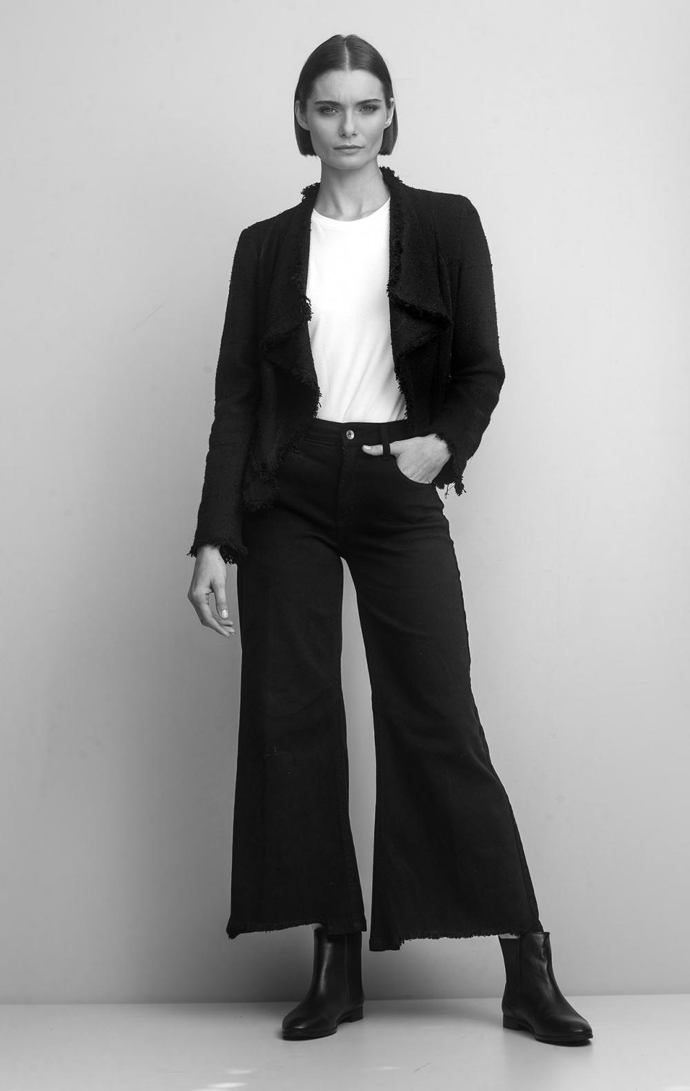 Calça Jeans CB Preta - Foto 1