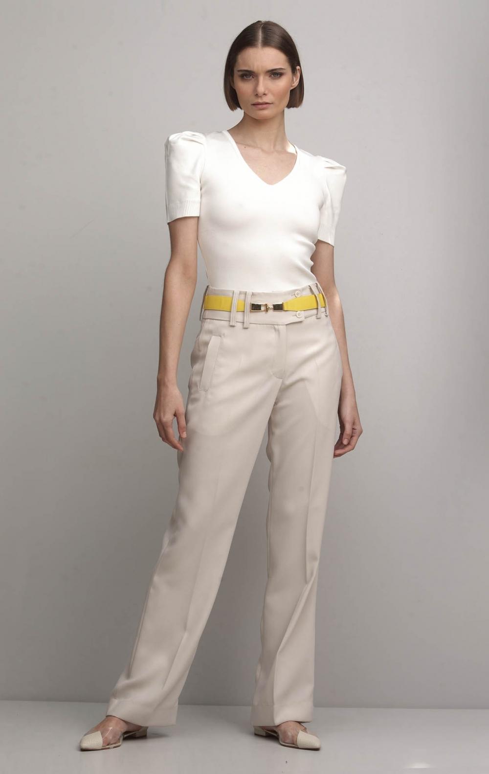 Calça New Mimi Off White - Foto 1