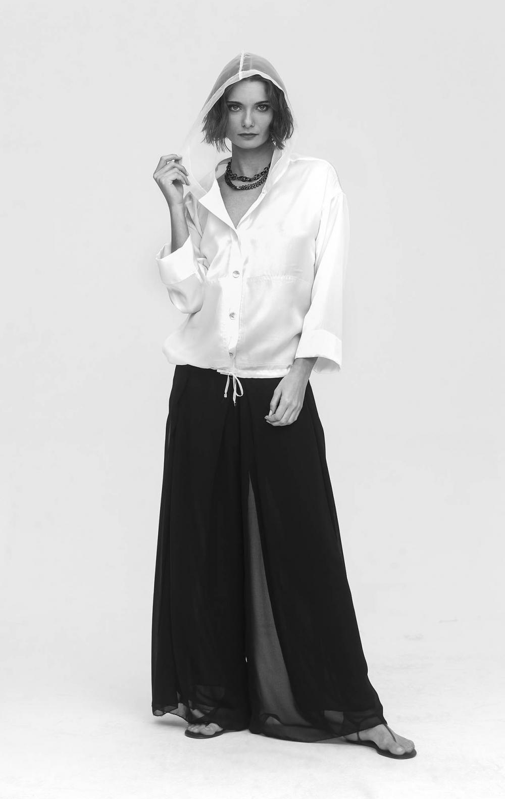 Calça Pantalona CB Musseline - Foto 2