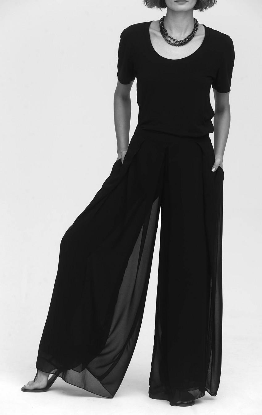 Calça Pantalona CB Musseline - Foto 3