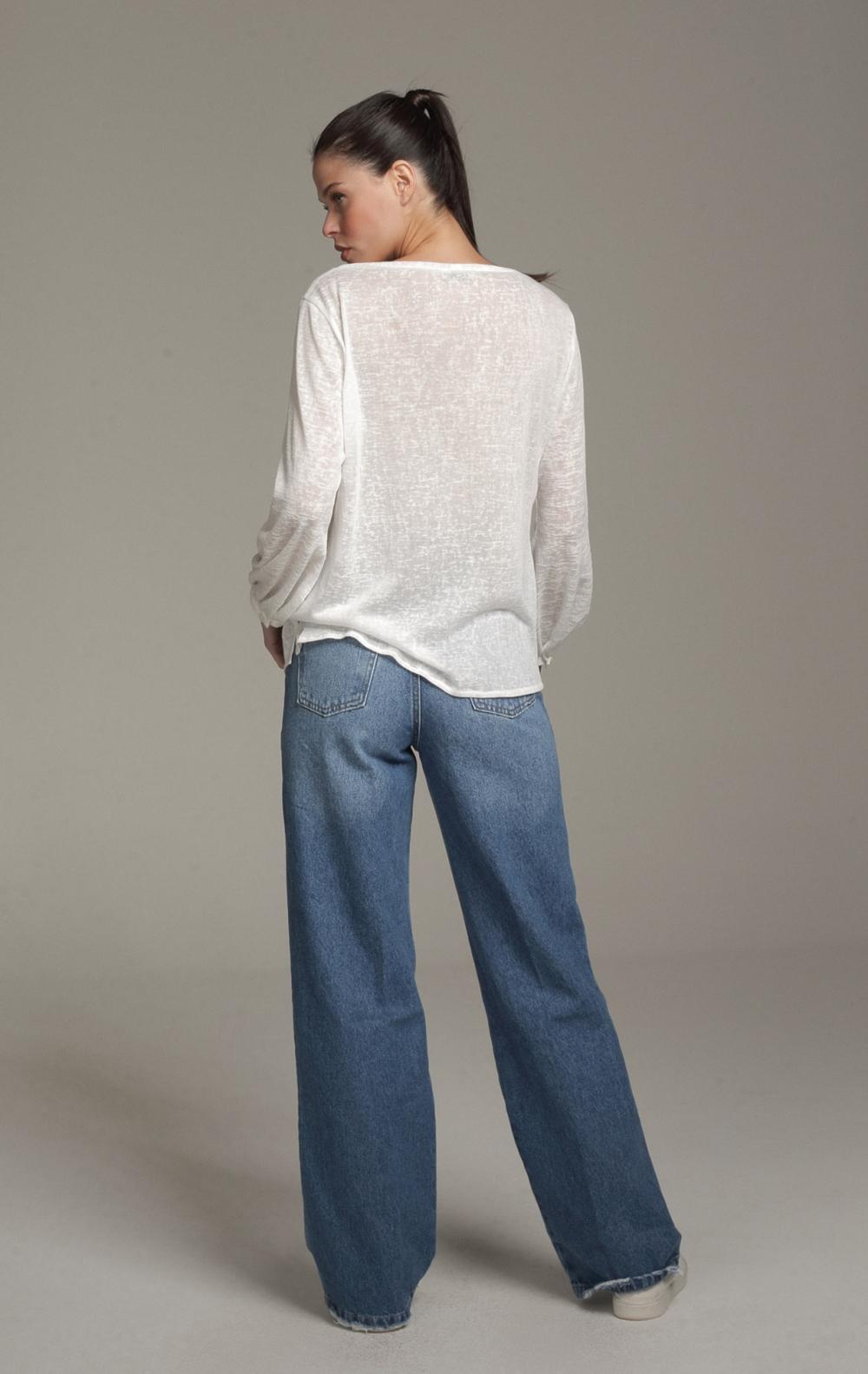 Calça Patricia Jeans - Foto 2