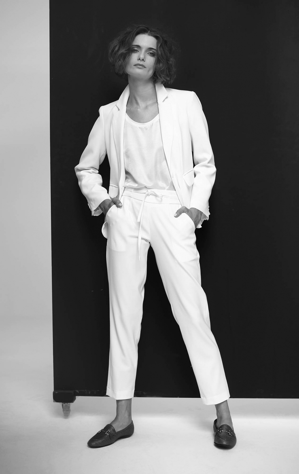 Calça Rena Off White - Foto 1