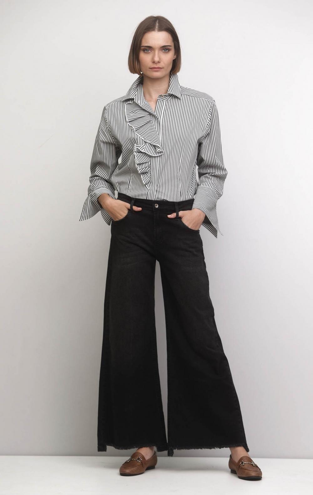 Camisa Caroline Stripe  - Foto 1