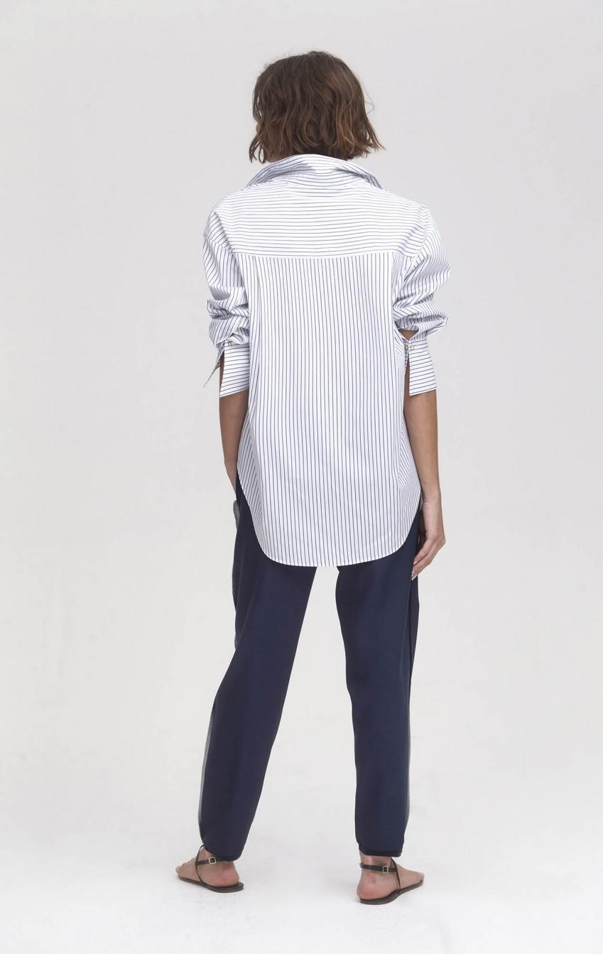 Camisa CB Algodão Gran Pearl Listrada - Foto 2