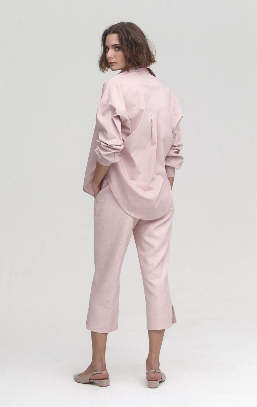Camisa CB Algodão Gran Pearl Nude - Foto 2