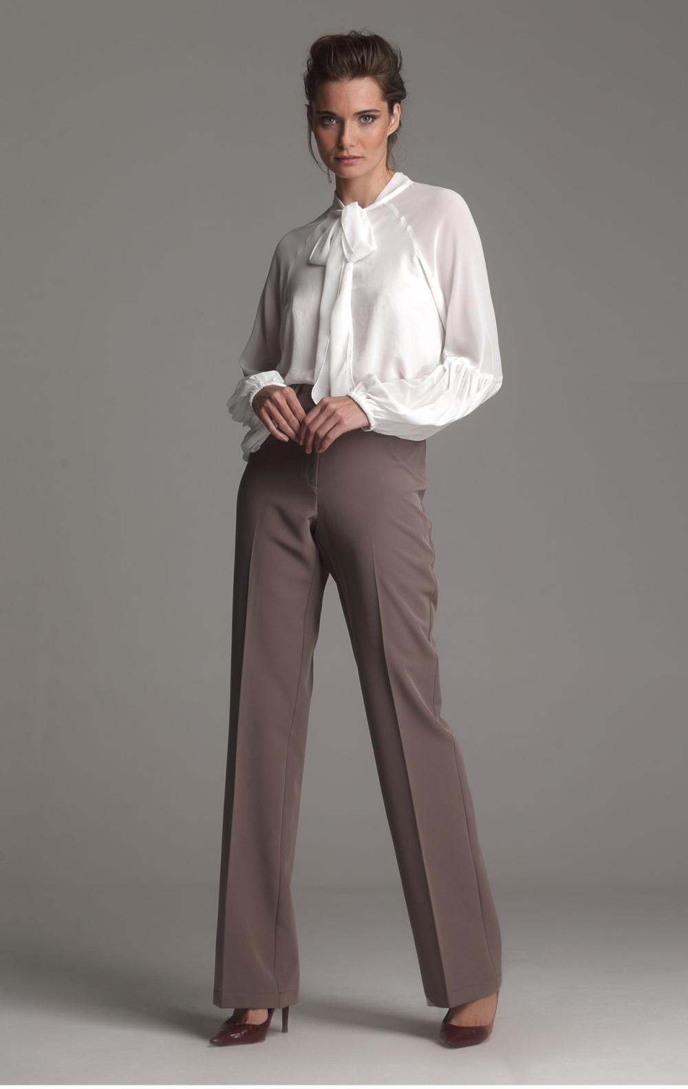 Camisa Double Chiffon Off White  - Foto 1