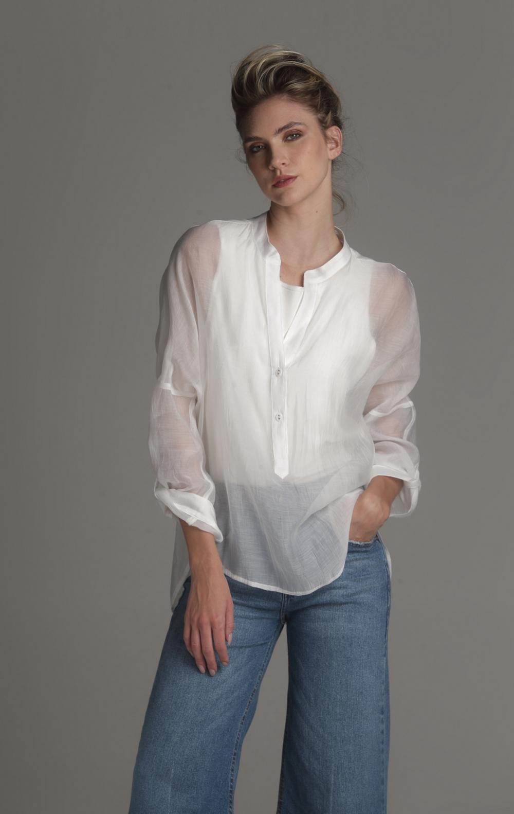 Camisa Douro Branca  - Foto 1