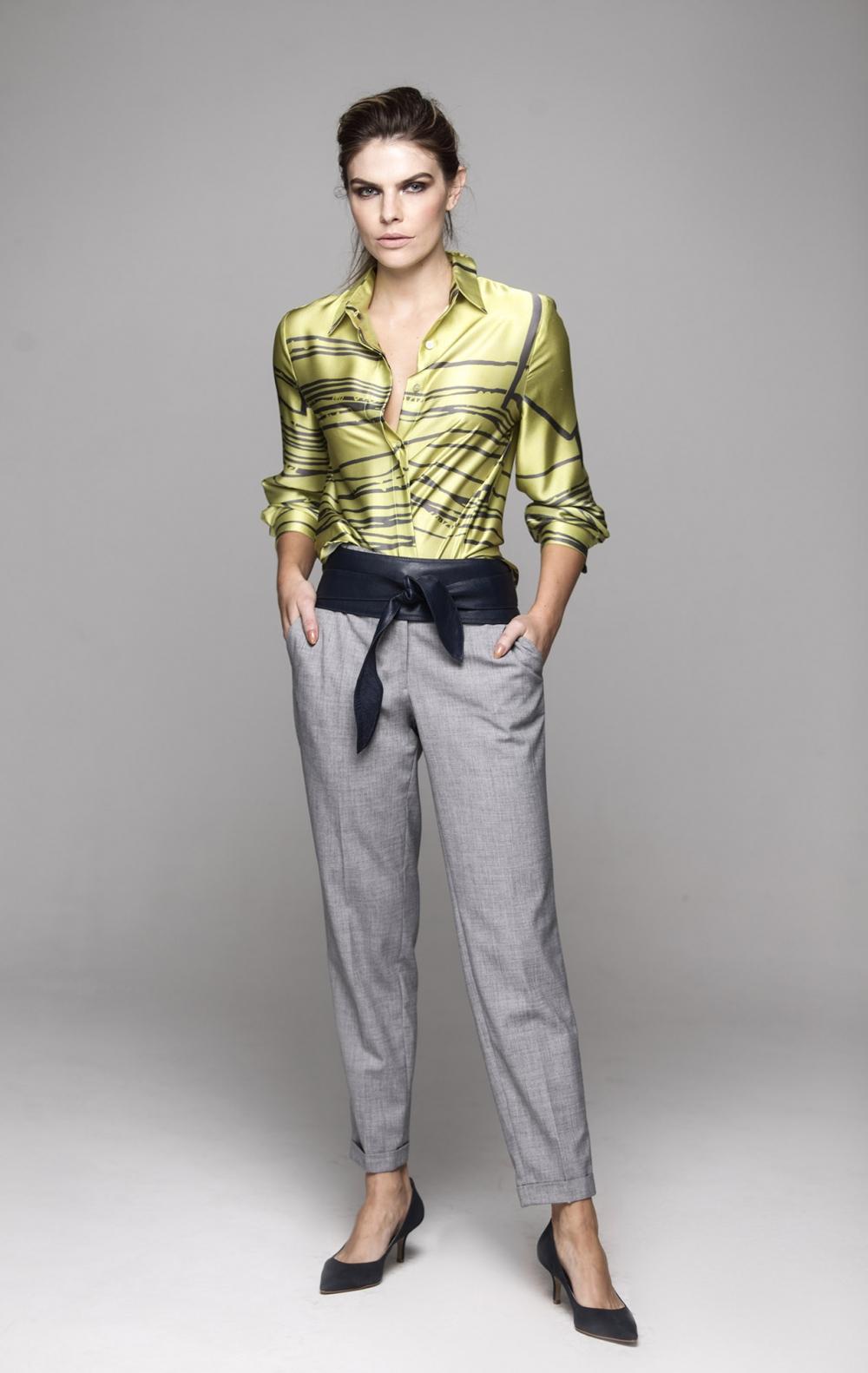 Camisa Gran Pearl Estampado - Foto 1