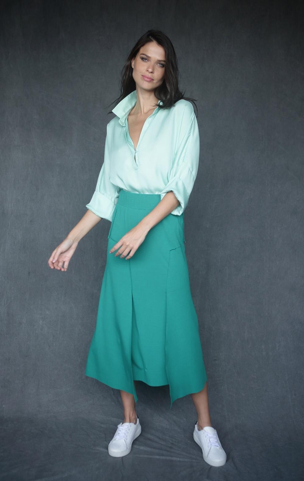 Camisa Polo Verde  - Foto 1