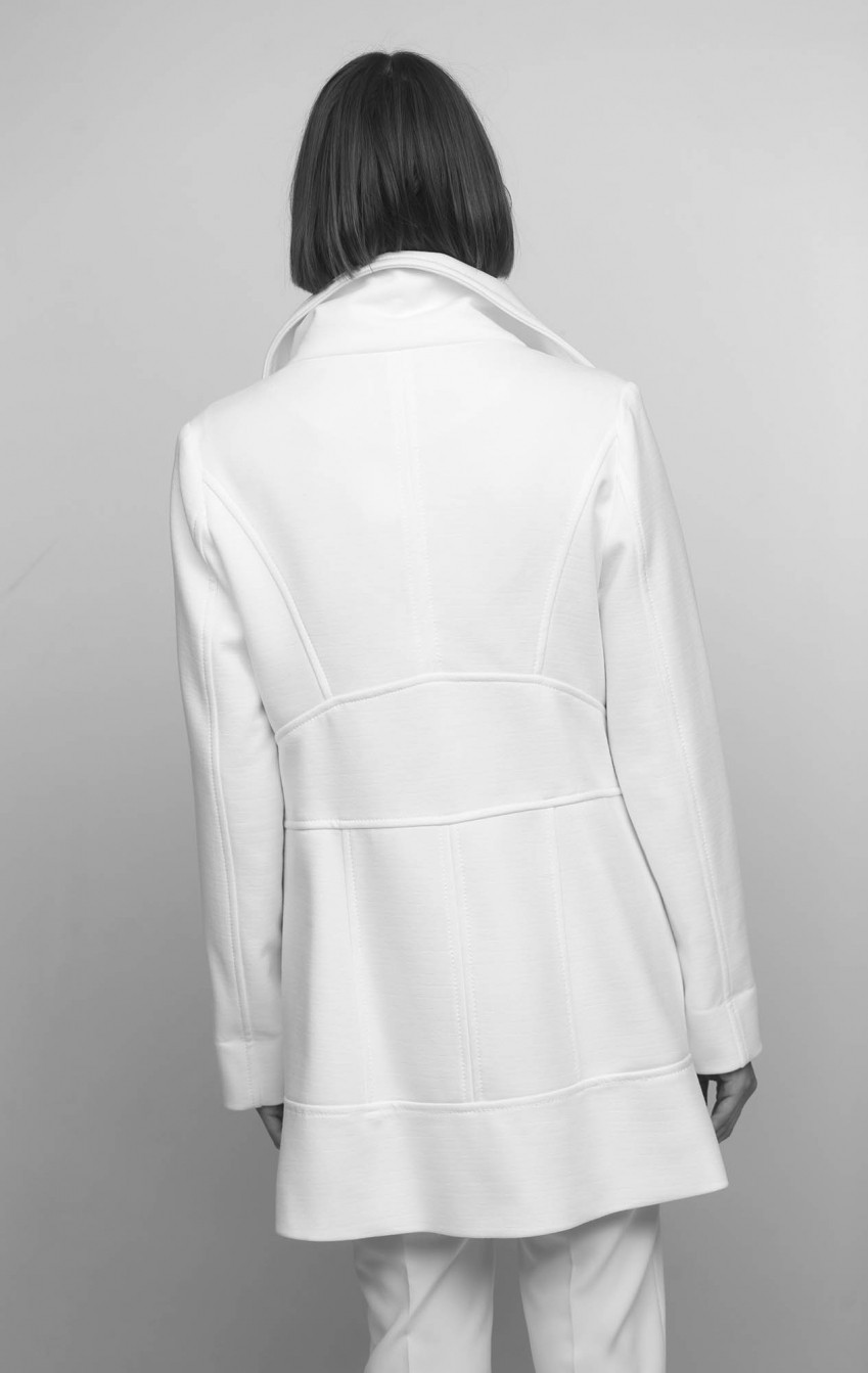 Casaco New Juliete Off White - Foto 4