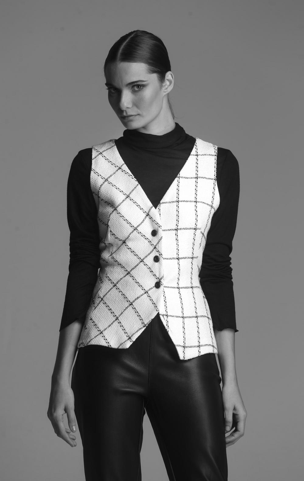 Colete Rive Tweed - Foto 1