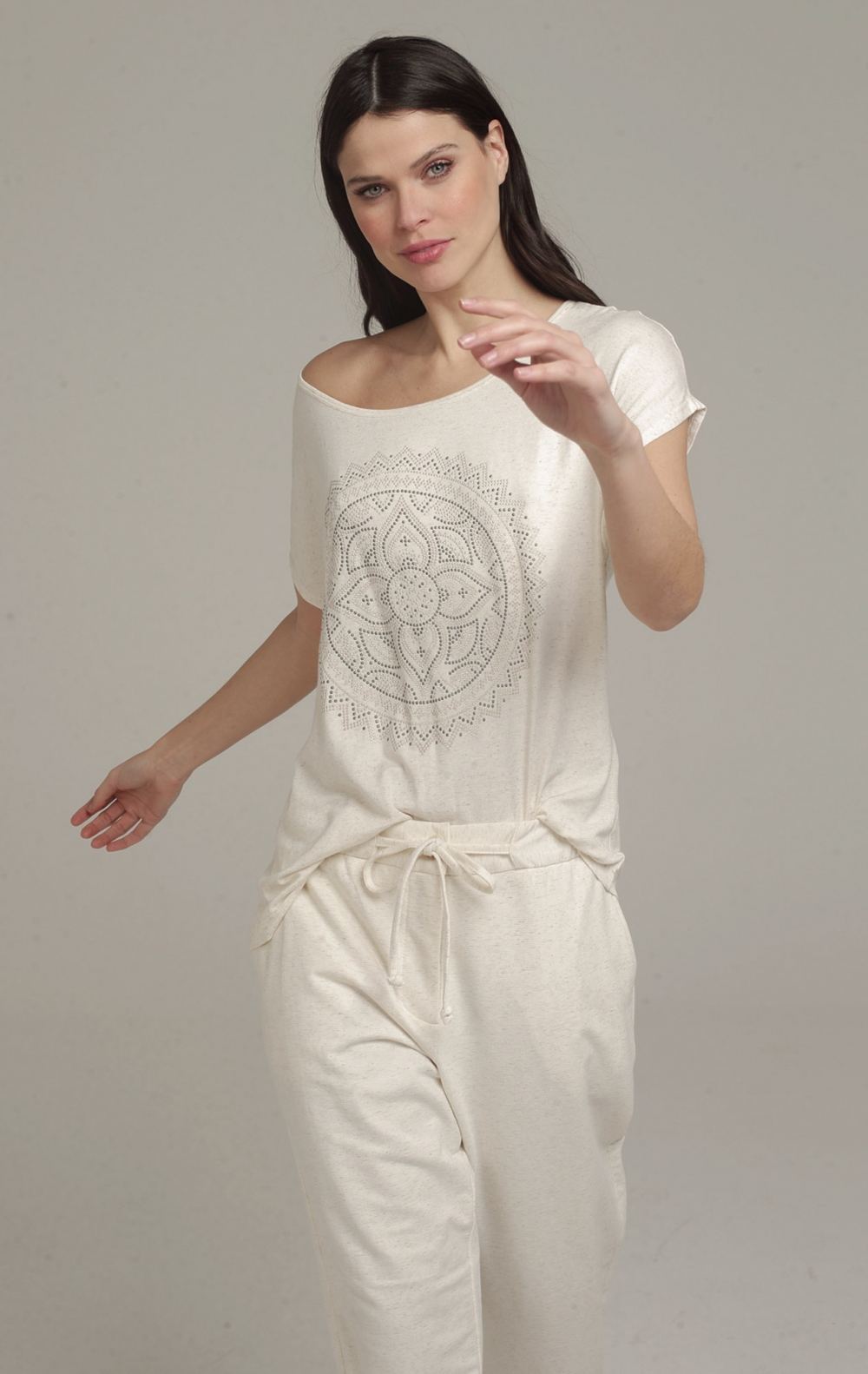 Conjunto Celina Off White - Foto 2