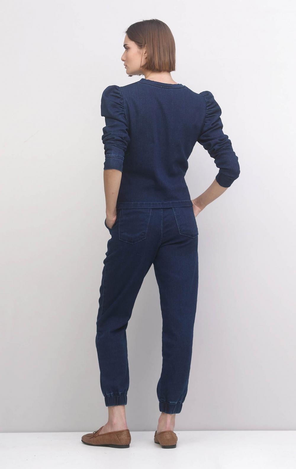 Conjunto Jeans Moletom Slim - Foto 3