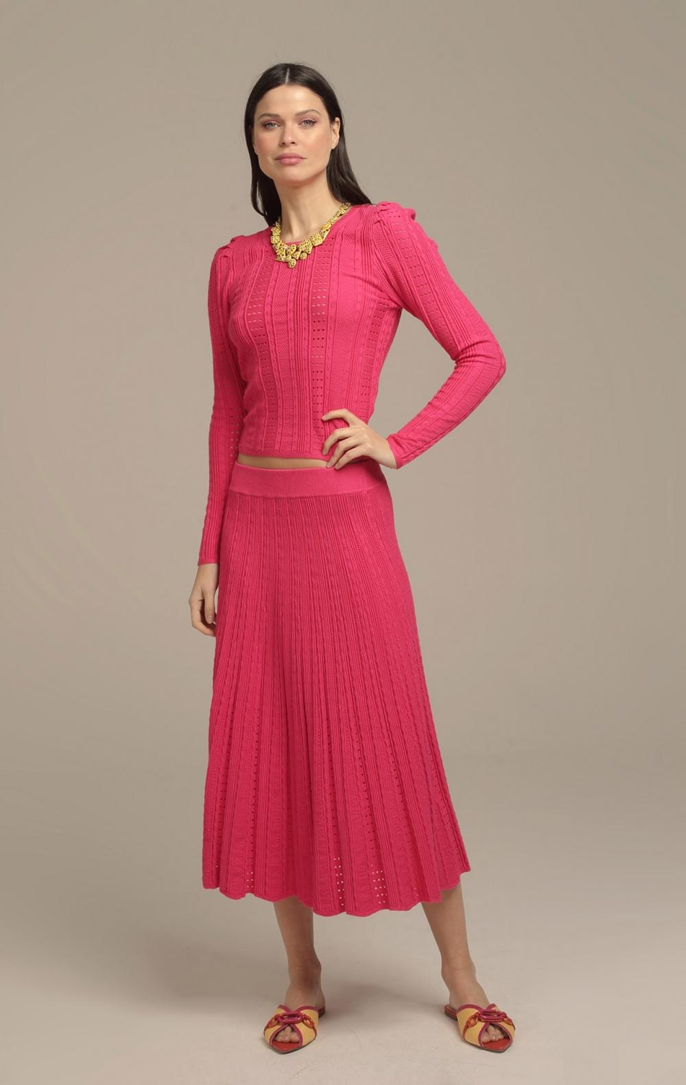 Conjunto Maia Tricot Pink - Foto 2