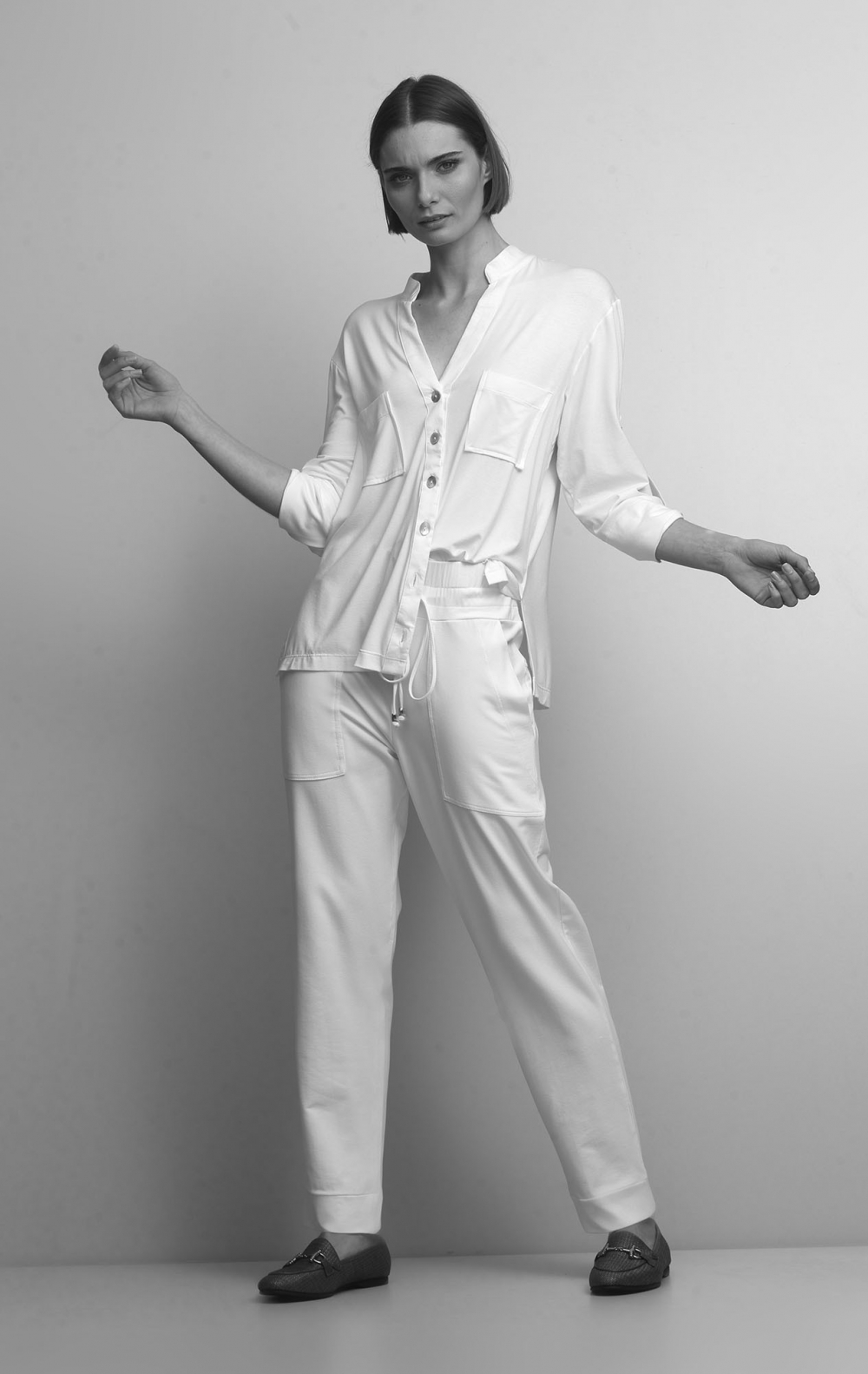 Conjunto Malha com Camisa Off White - Foto 2