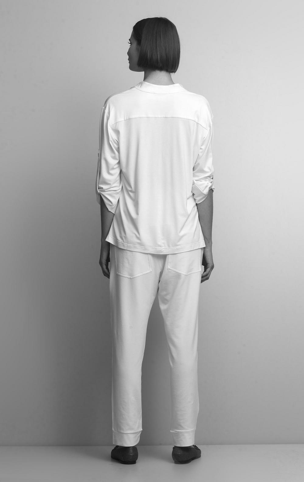 Conjunto Malha com Camisa Off White - Foto 4