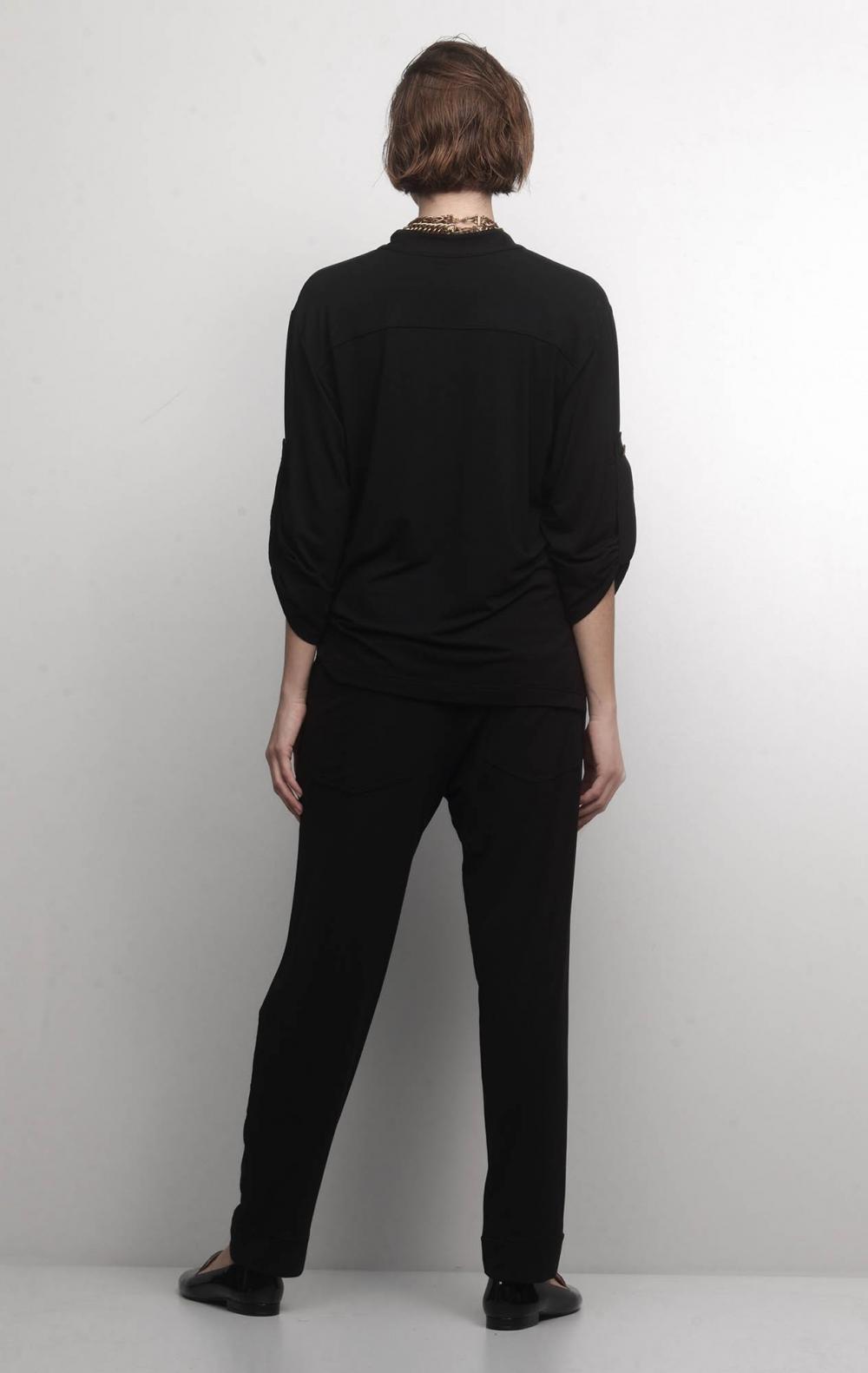 Conjunto Malha com Camisa Preto   - Foto 2