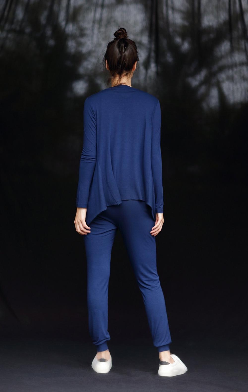 Conjunto Malha Twin Set + Calça Azul  - Foto 2