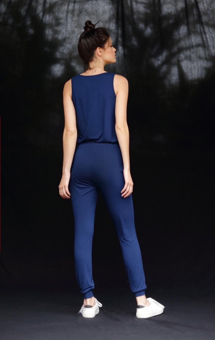 Conjunto Malha Twin Set + Calça Azul  - Foto 3