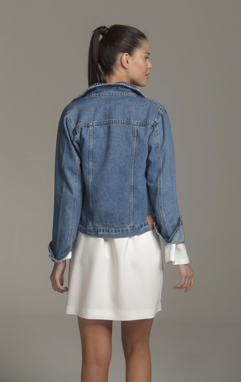 Jaqueta Andreia Jeans - Foto 2