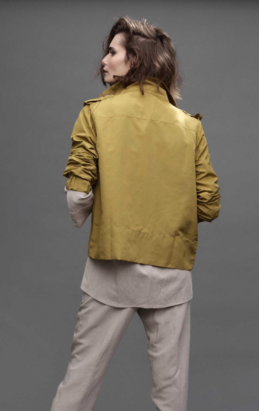Jaqueta Valentina Dourada - Foto 3