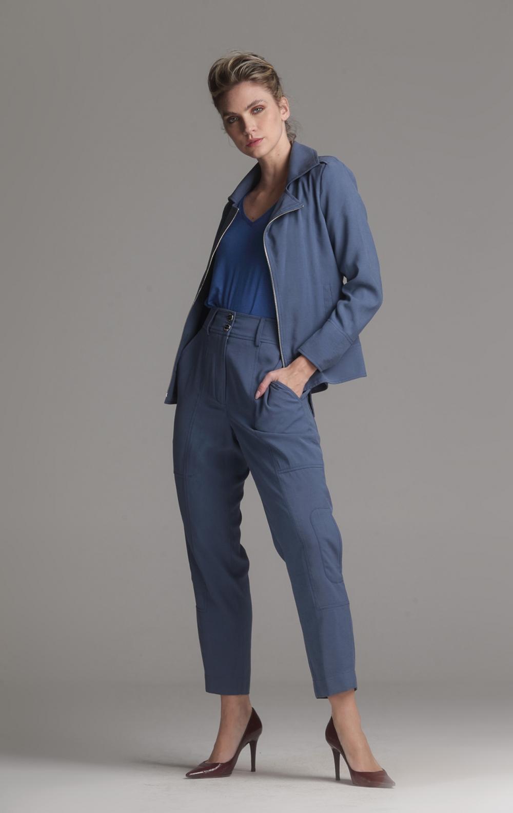 Jaqueta Perfect Azul - Foto 1