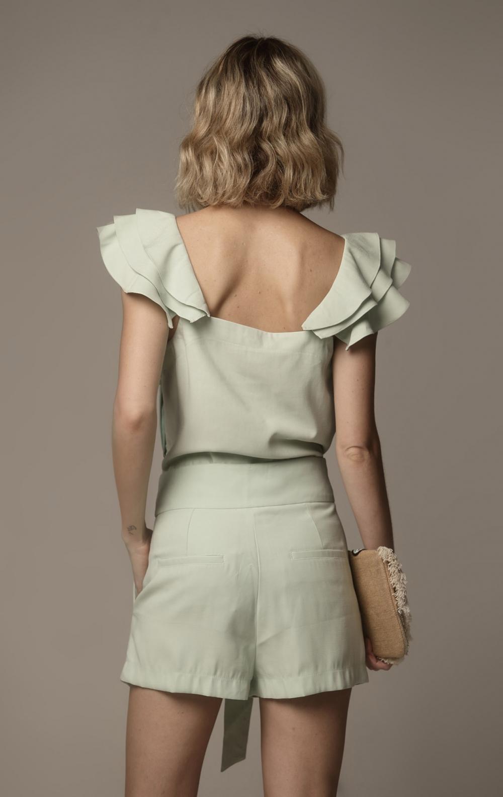 Shorts Camila Menta - Foto 2