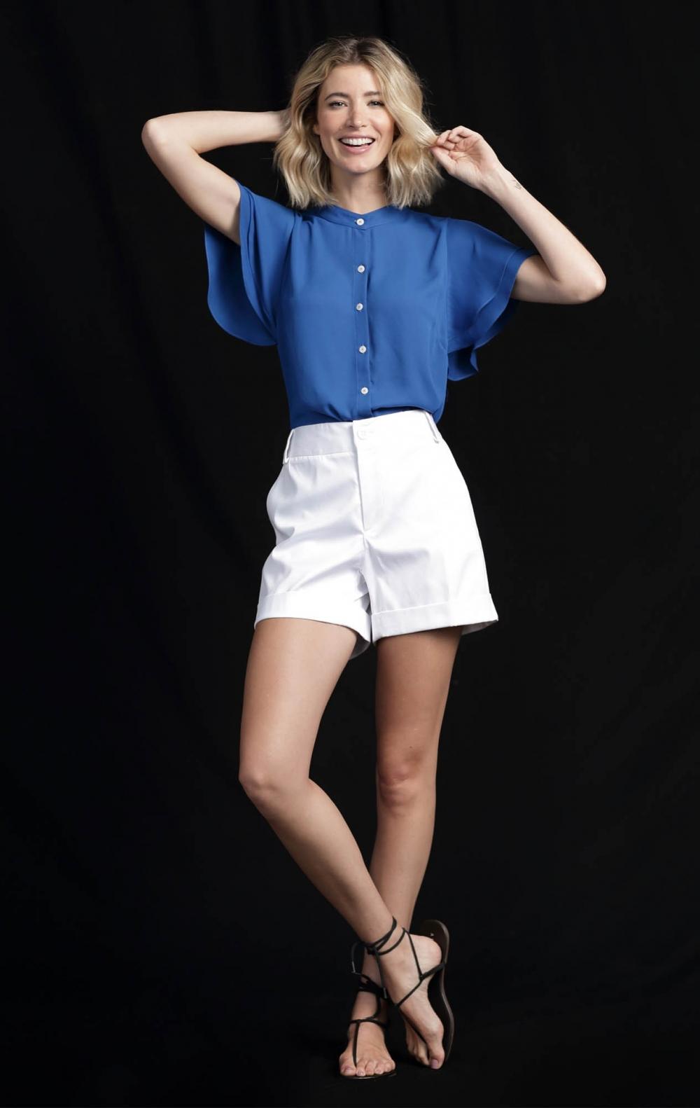 Shorts Simone Branco  - Foto 2